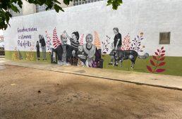 L'Ajuntament treballarà per pintar nous murals en altres parts de Palafolls, un cop estrenat ja el de Festa Major